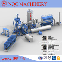 High Efficiency and Low Comsumption Mobile Asphalt Mixing Plant
