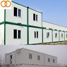 Fashionable bright prefabricated living 20ft container house