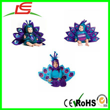 peacock plush baby infant animal costume by alibaba China suppllier