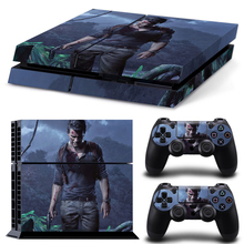 Full Body Decal Sticker Protector Vinyl Skin Sticker for PS4 Console Controllers