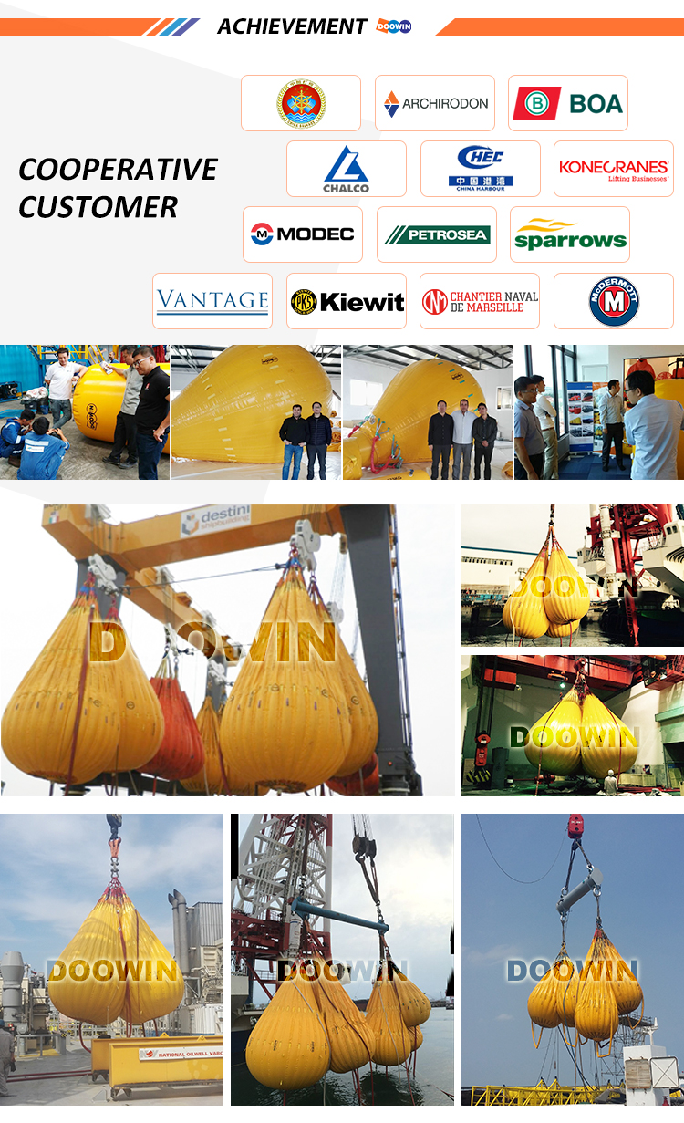 35Ton Water Filled Weights Bag for Crane Load Testing and Ballast