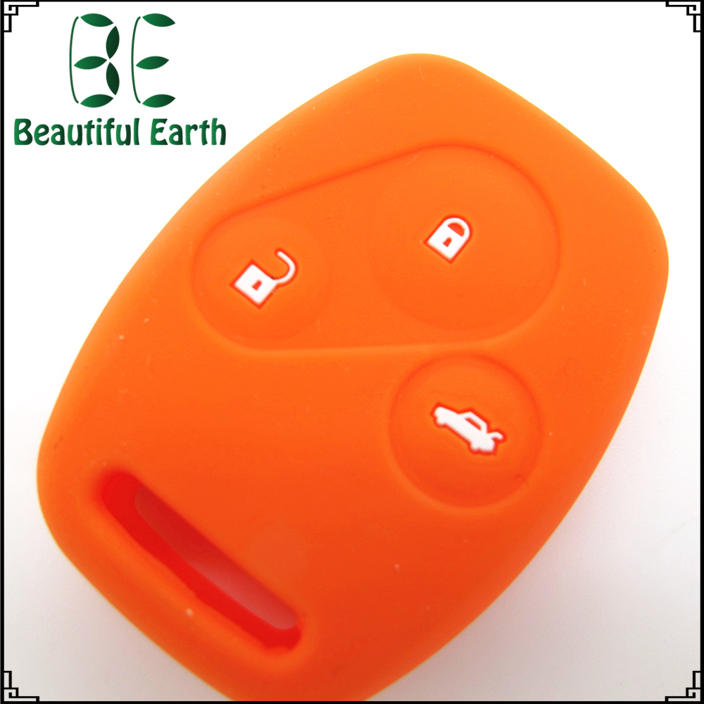 2016 new product Elegant business gift genuine silicone car remote key cover key duplication used