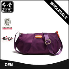 Wrinkle design trend nylon fashion ladies crossbody messenger shoulder bags