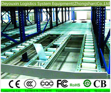 Warehouse storage fifo rack/conveyor with stainless steel and auto parts for industry