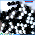 Factory price black and white beaded ball for sale
