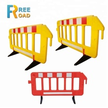 2meter length blow molding plastic fence barrier road barrier