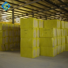 sound absorbing 60kg/m3 rock wool boards mineral wool for thermal insulating