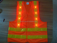 high visibility battery operated led lights for clothing meeting EN471