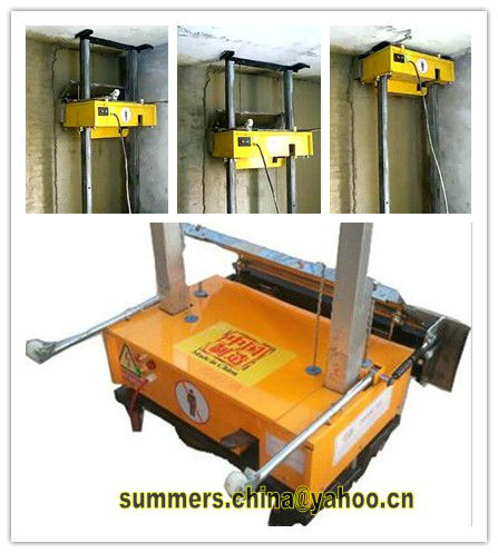 Auto wall plastering equipment / wall pasting machine for sale