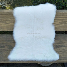 White Faux Sheepskin Rug Super Soft Warm and Cosy Chair Cushion Bedroom Floor Carpet