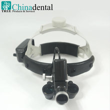 TR-L05 New 30000 lux Surgical Medical LED dental Binocular Loupes & light, Cap design,Leather cushion, have 2.5X and 3.5X