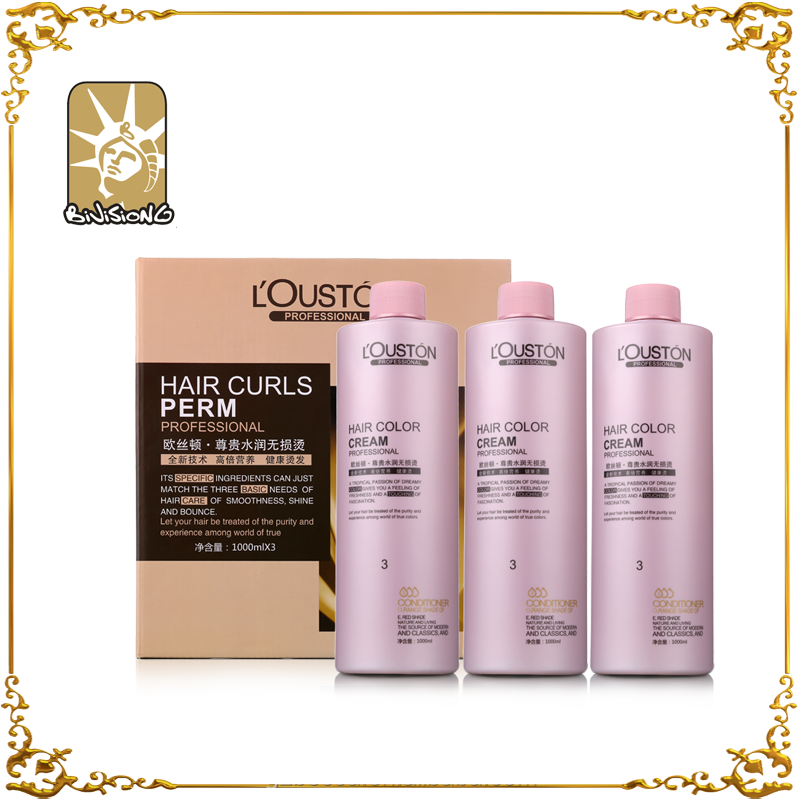 OEM keratin hair straightening perm solution