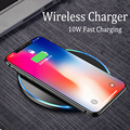USB Qi Wireless Charger for Samsung Galaxy S8 S9 S7 iPhone 8 X 8 Plus Wireless Charging Pad