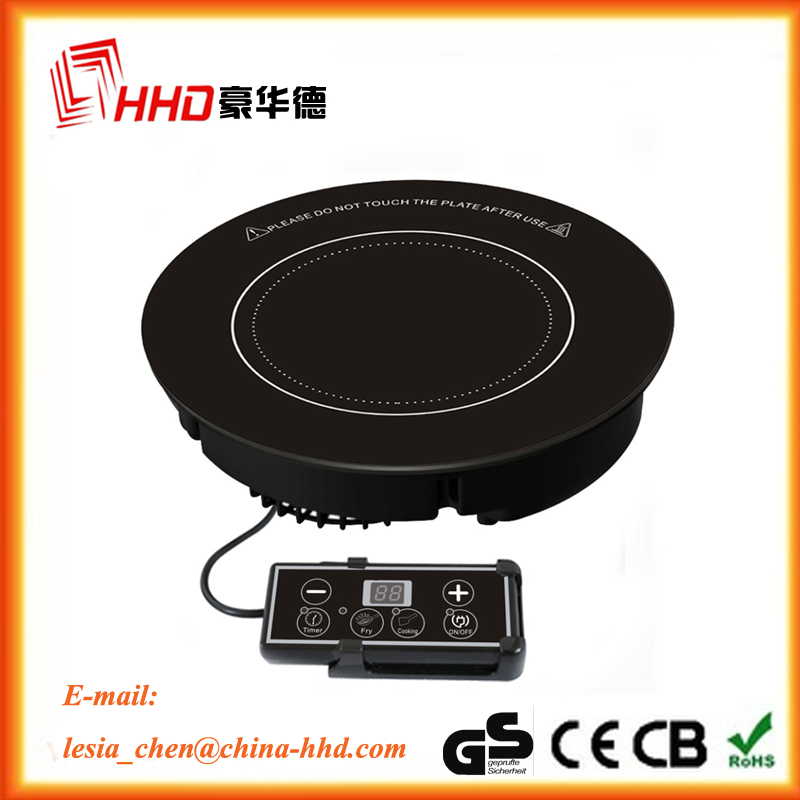 2016 high quality 12v battery powered induction cooker with spare parts