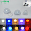 CE RoHS FCC approved 16color optional induction charge remote control RGB small battery operate LED light for light up furniture