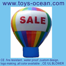 inflatable ground balloon /inflatable advertising balloon /inflatable big balloons