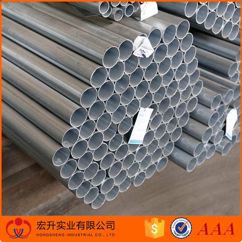 China 2016 new product hot dipped galvanized steel pipe tube for fence post
