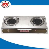 2 burner Home & Restaurant portable table top gas stove