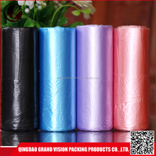 China supplier new products plastic garbage trash bags black