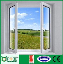 2017 Modern Windows Type Aluminium Window Screen French Casement Window Made In China