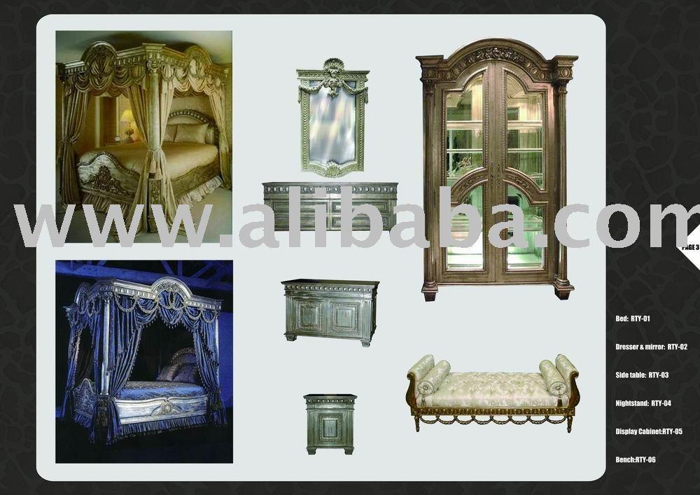 Ofrecemos canopy cama de estilo franc s camas for French style gazebo