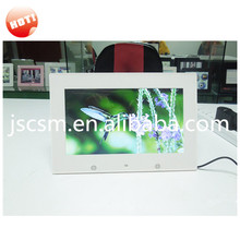 hot selling full function slim high resolution led / lcd digital photo frames 10'' made in china