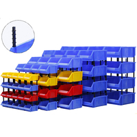 hot sale plastic spare parts storage feed bins