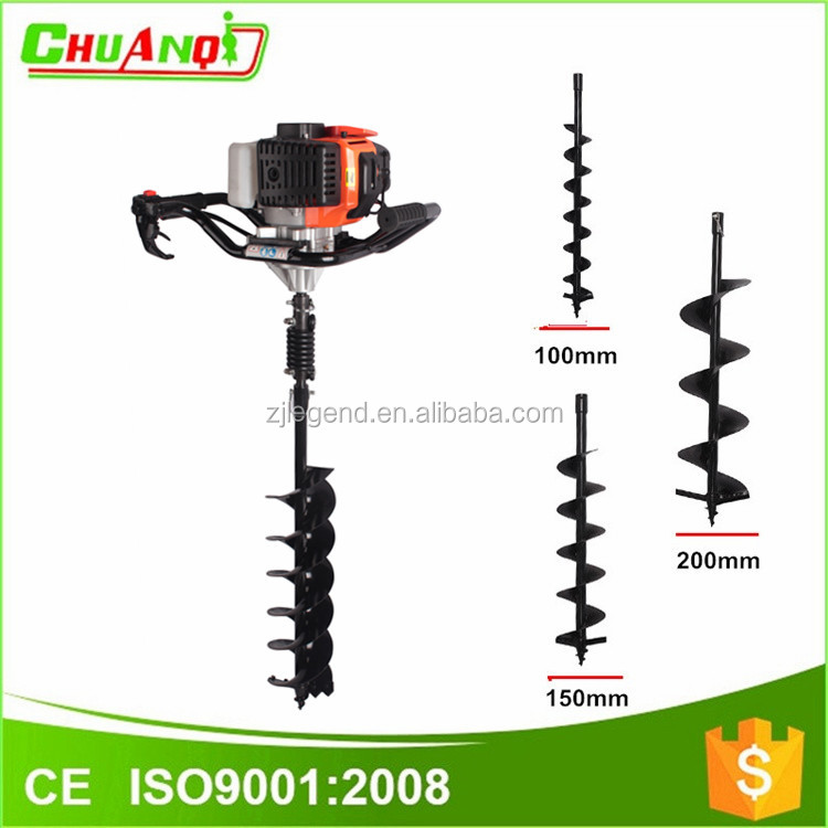 Garden tools ground drill post hole digger gearbox