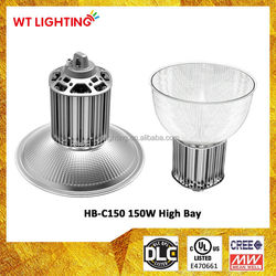 LED Loop Hanging Light 150W Reflector Cover High Bay