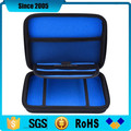 blue nylon cover eva gauge zipper case for storage