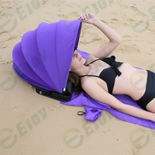 New personal camping shelter face protection beach shade sun shader for beach sunbath