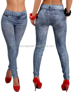 RM003 3D printed leggings Sexy Woman Seamless Jeans Leggings jegging women pants leggings
