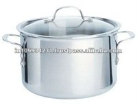 stainless steel 12pcs big cooking pot
