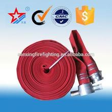Flexible pvc/rubber/TPU lining fire hose,pvc ribbed flexible hose,fire fight equipment manufacturer