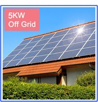 5kw off-grid solar power home system for home electricity supply
