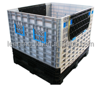 Taizhou Plastic Large Foldable Container Box With Lid,Sale Maxpack Folding Shipping Crate,Large Folding Crate