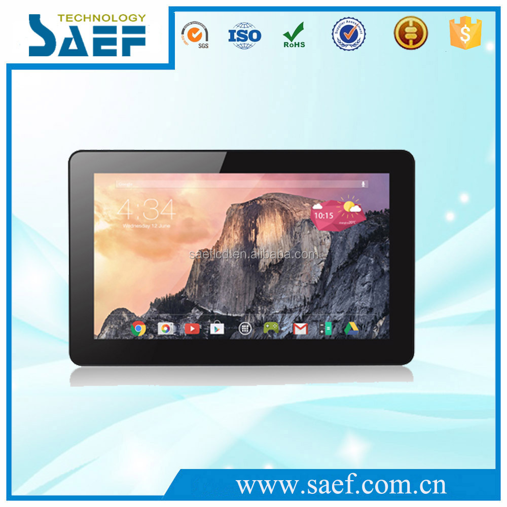 15.6 inch android tablet pc quad core 10 point touch screen GPS