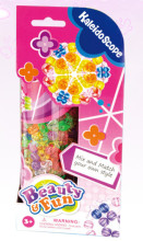 Hot kids colourful kaleidoscope DIY beads kit, bead bracelet, jewelry making kit