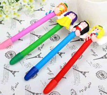 Novelty ballpoint pen cheap polymer clay ball pen
