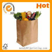 craft paper bags with customize logo print