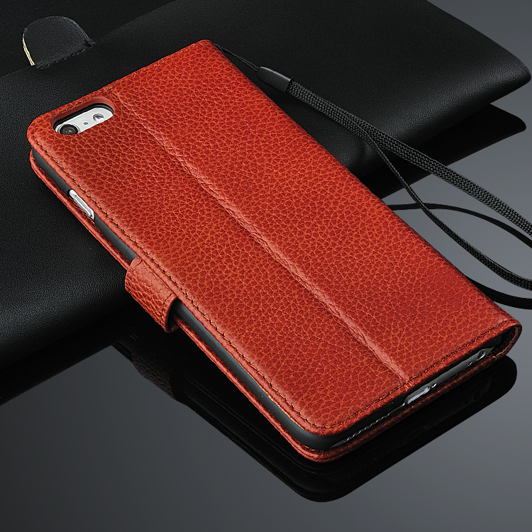 Luxury genuine Leather Case Card Pocket Pouch Wallet Cover For iphone 6 6plus 6s 7 7 plus