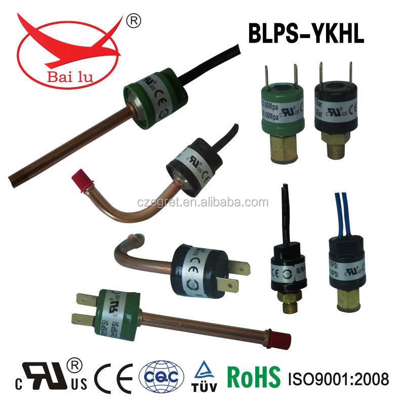 pressure switches 24V on various equipment and tools