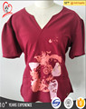 OEM hospital unifrom /medical scrubs/unisex scrub with nice printing