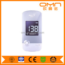 High quality cheap portable Professional pocket womb music heartbeat baby monitor Fetal Doppler