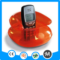 Fast delivery PVC inflatable mobile sofa holder
