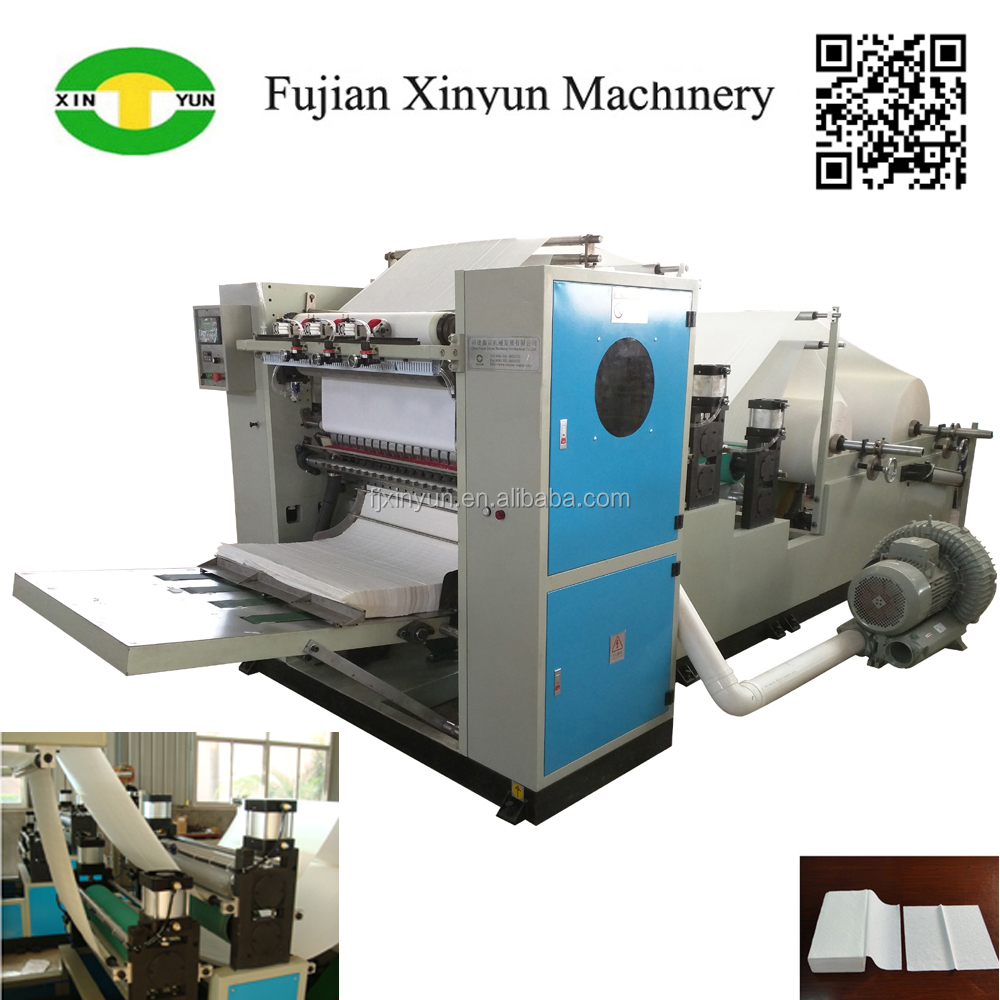 Embossing Drawing Type facial paper tissue converting machine