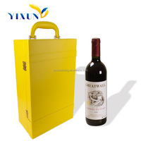 Fashion design wine carrier, leather wine carrier, wine bottle carrier