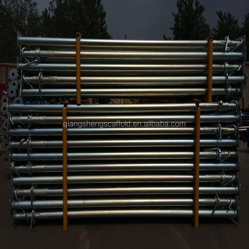 Adjustable Steel Post Shores : Scaffolding accessories adjustable post shores