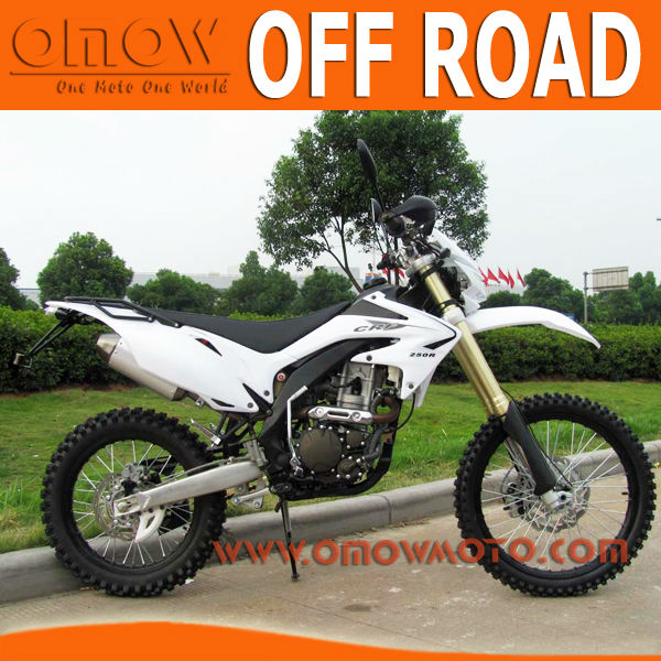 250cc off road motorbike