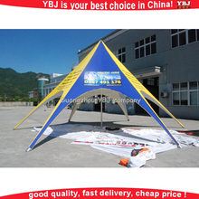 2016 YBJ new design outdoor event star tent spider advertising cheap star shade star tent